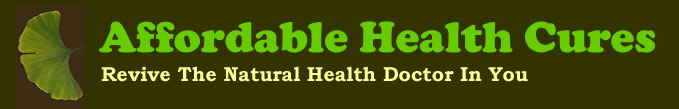 Affordable Health Cures Header